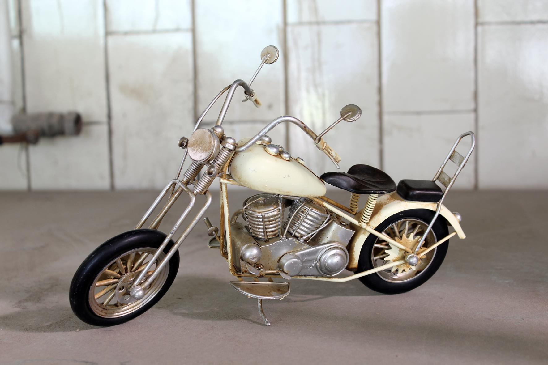 haus und garten schmuck modell motorrad chopper. Black Bedroom Furniture Sets. Home Design Ideas